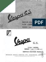 Vespa-GS Service Manual
