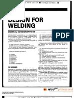 Design for Welding-WHB