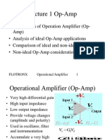 L01 Operational Amplifier