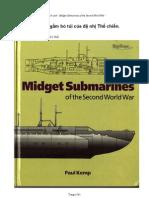 Các tàu ngầm bỏ túi của chiến tranh thế giới thứ hai