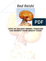 Red Reishi(How an Ancient Herbal Treasure Can Benefit Your Health Today)