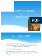 Autoimmune Diseases of the Oral Cavity