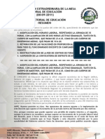 Informe Mesa Educación 08-09-2011