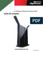 Wzr Hp g300nh Manual