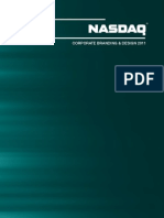 Nasdaq Corporate Branding and Design 2011