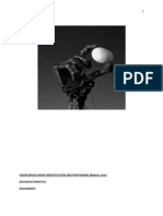 Vision Based Shape Identification and Positioning (Robotic Arm - Lynx Motion)