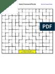 Chinese Hanzi Crossword Puzzle