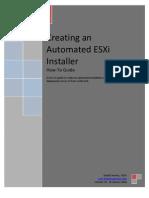 ESXi4 Unattended Install
