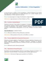 Programma di Matematica e Informatica per il II Liceo Linguistico