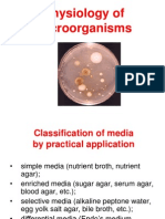 Practice Physiology of Microorganisms