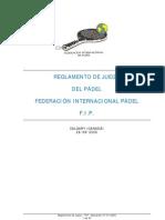 Reglamento Padel  2008