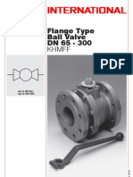 Ball Valve Flange Type