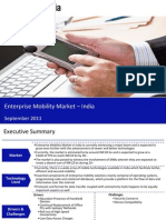 Market Research Report :Enterprise Mobility Market in India 2011