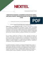 Comunicado de Prensa 08092011