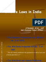 Forest and Wildlife Laws in India