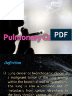 Pulmonary Cancer