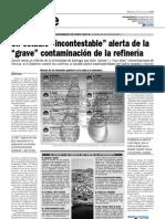Un Estudio Incontestable Alerta de La Grave Contaminacion de La Refineria 27-05-09