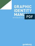 Graphic identity manual - Destination Göteborg