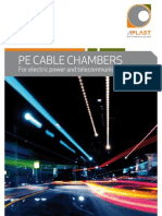PE cable chambers