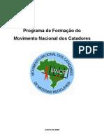 Caderno de Formacao Nacional Do MNCR Modulos I e II