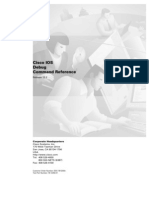 Cisco IOS Debug Command Reference 12.2
