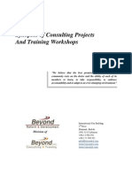 BRD - Synopses of Consulting Projects and Training Workshops