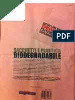 buste e plastica biodegradabile