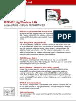 Especificaciones Antenas Wi-Fi