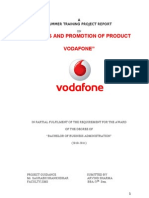 VODAPHONE Sales and Promotion Product