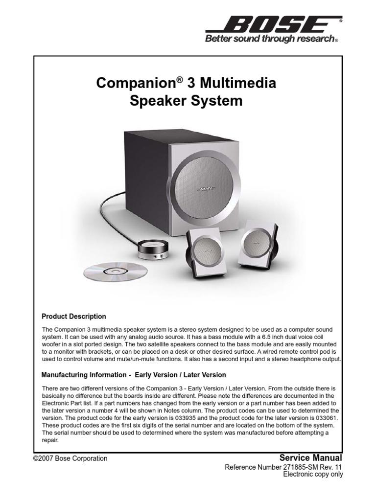 companion 3 sch electrostatic discharge equalization audio rh es scribd com