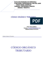 Codigo Organico Tributario