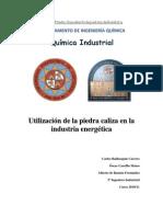 Utilización de la piedra caliza en la industria energética