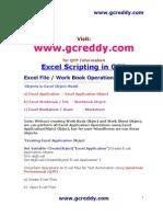 QTP Excel Scripting