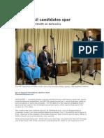 Debate Coverage Telegram
