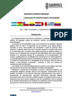 """2da Circular. IV Simposio Latinoamericano """"Educación e Interculturalidad"""" Red Latinoamericana PACARINA"""