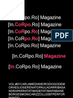 Perform Are] in.corpo.ro - Magazine Vol. #01