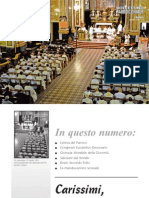 Bollettino Parrocchiale Agosto 2011