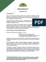 Breve Documento Propuestas Educacion