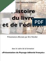 Histoire de l'édition