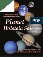 Sale Catalog - Planet Holstein Sale