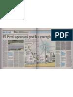 """""""El Perú apuesta por las Energías Renovables"""""""