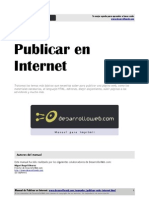 Manual Publicar Internet Desarrollowebcom