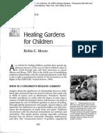 Healing Gardens for Children