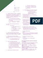 Anatomy 2 Mnemonics
