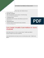Como Instalar Virtual Box Guest Additions en Ubuntu Virtualiz