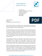 Mensagem na posse do Presidente da República de Cabo Verde - 9.setembro.2011