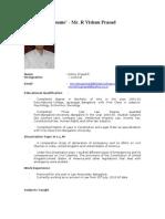 Sample Resume
