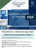 seguridad informatica, arquitectura y diseño de seguridad