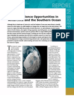 Future Science Opportunities in Antarctica and the Southern Ocean