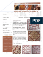 Tejido de Algodón - Encaje ju - IPA - Volumen 7, Nº 7 - PortalGuarani